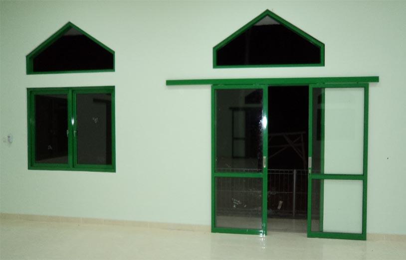 Pintu Sliding Dan Jendela Aluminium Masjid Bogor Toko
